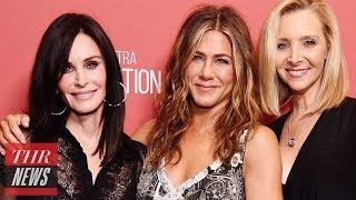 Jennifer Aniston on 'Friends' at Mini Reunion at SAG-AFTRA Foundation Event | THR News