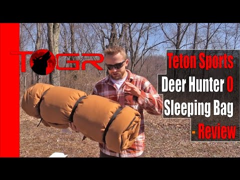 Inexpensive But Heavy - Teton Sports Deer Hunter 0 Sleeping Bag - Review