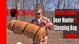 Inexpensive but Heavy - Teтon Sports Deer Hunter 0 Sleeping Bag - Review