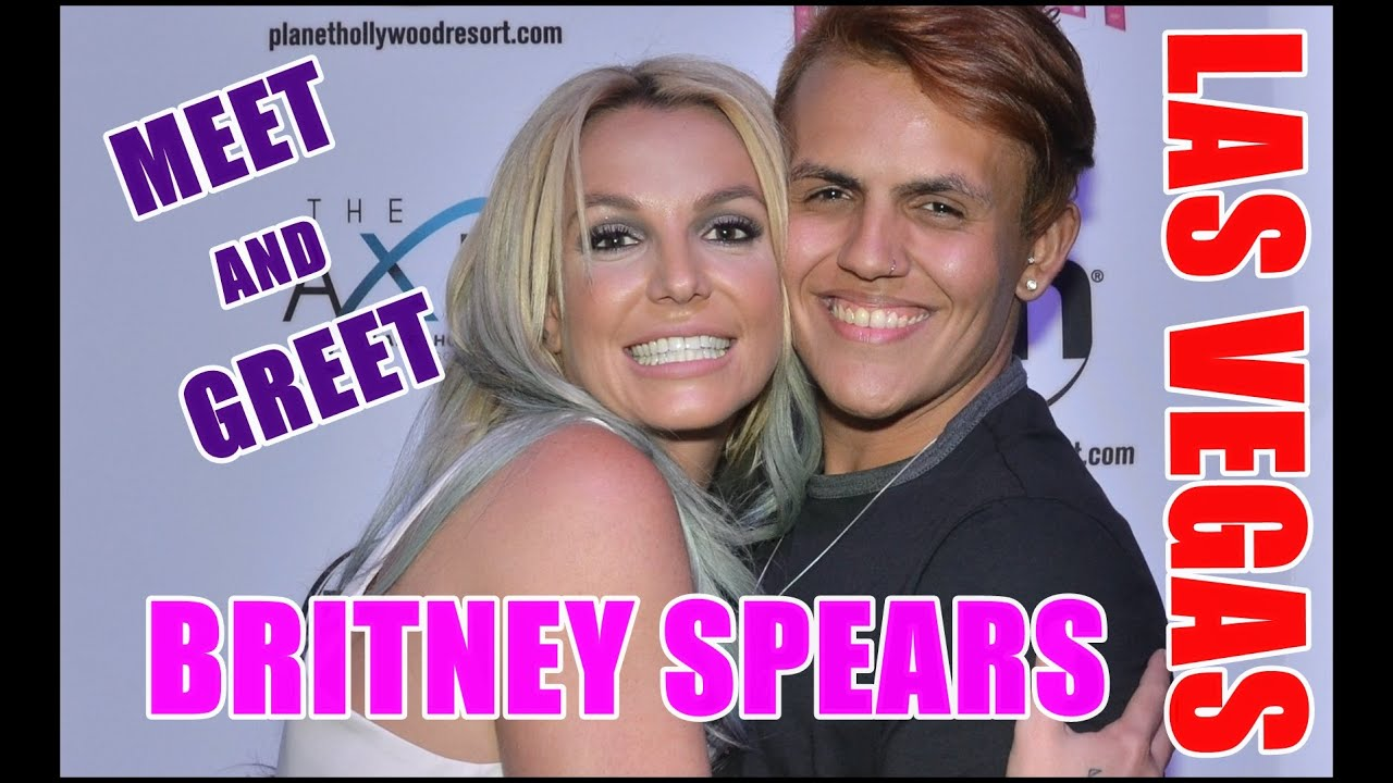 Meet and greet britney spears las vegas 2015 youtube m4hsunfo