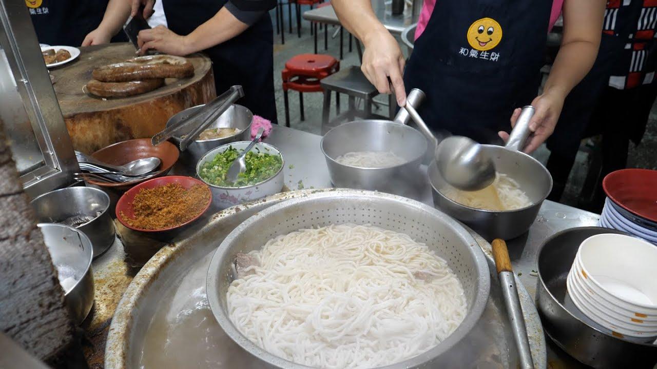 2020 Food Compilation - Scallion Omelet, Rice Noodle Soup, Bread(Ham, Raisin), Beef Noodle Soup