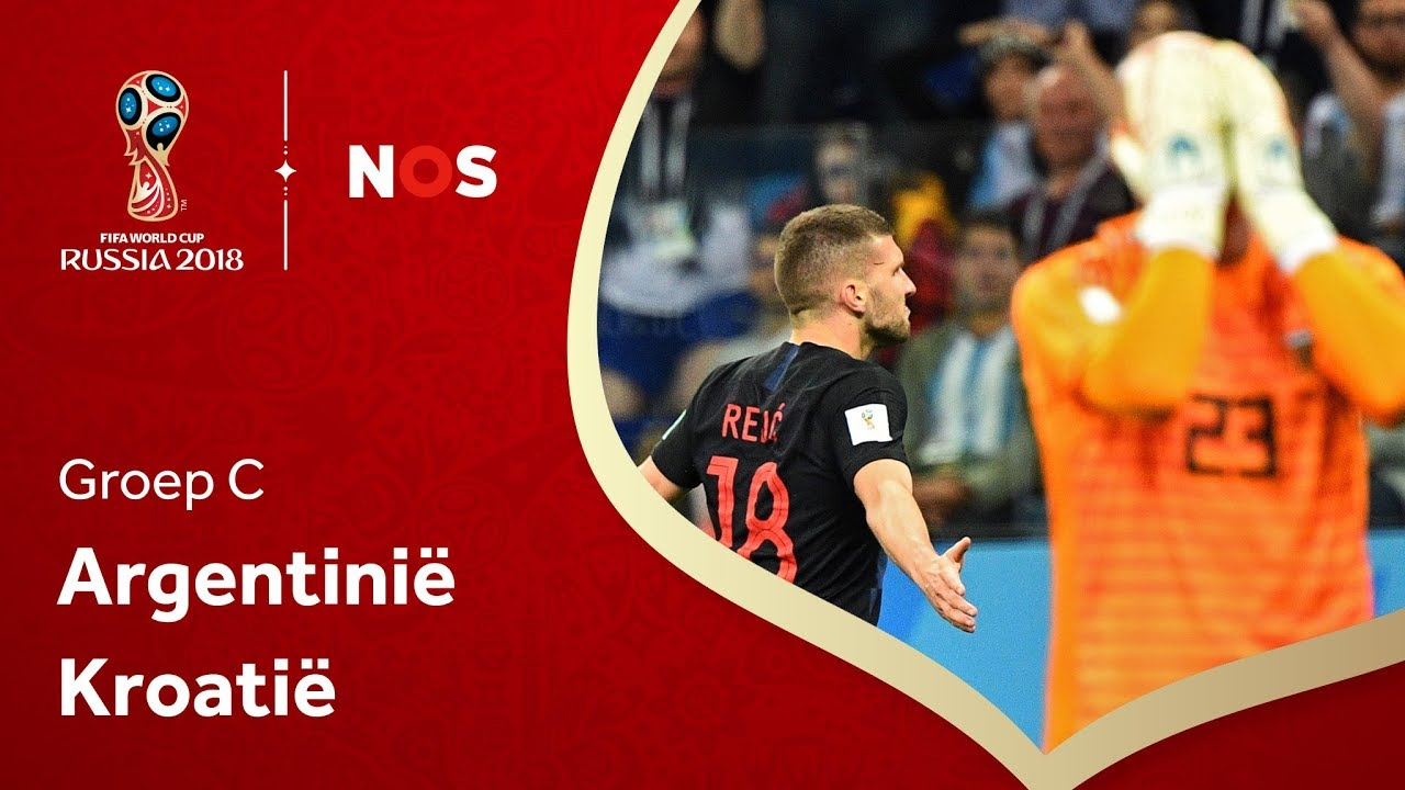 Argentinië - Kroatië (groep D) I WK 2018