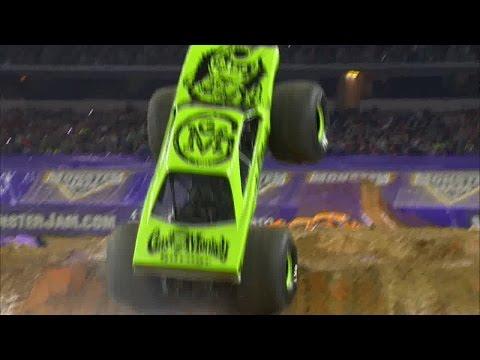 Monster Jam coming to Lucas Oil Stadium