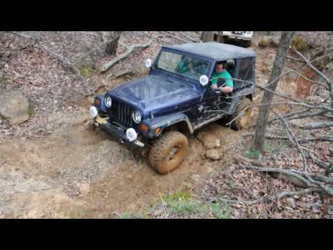 Jeep wrangler at turkey bay Land between the lakes in HD - YouTube
