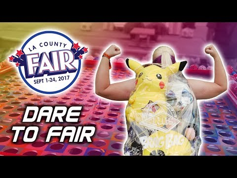 Crazy carnival games and more at the LA County Fair! DARE TO FAIR!