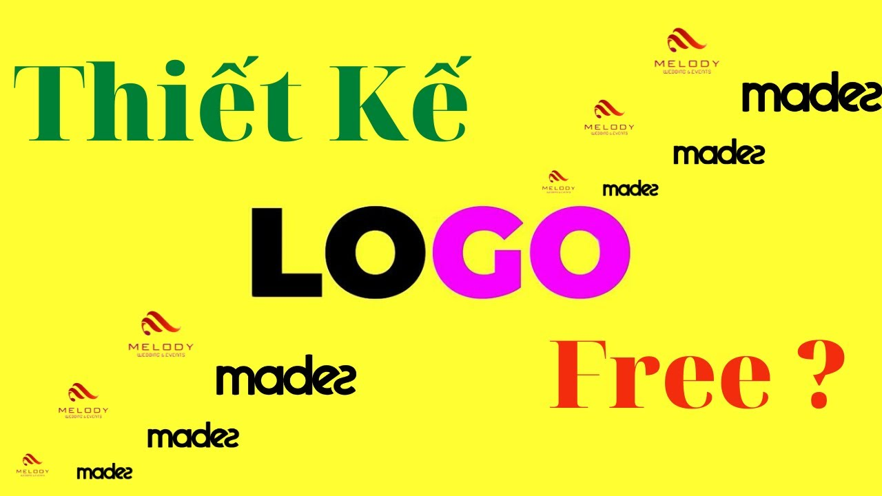 Thiết kế logo miễn phí cho bộ nhận diện thương hiệu