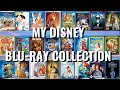 My Disney Blu-ray Collection with over 200 Blu-rays