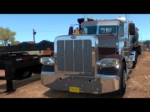 American Truck Simulator - New Mexico - Clovis to Albuquerque - Gameplay (PC HD) [1080p60FPS]