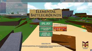how to get the Sound element and some of his attacks - Roblox elementary Battlegrounds