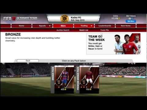 FIFA 12 | Money Making in Ultimate Team ep1 - In Depth Bronze Pack Method with Commentary