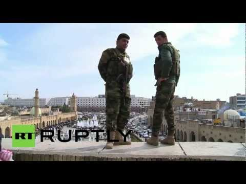 """Iraq: Soldiers guard """"oldest living city in the world"""""""