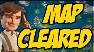 Boom Beach Clearing The Map [SPED UP] 2