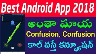 Best android apps 2018 || how to lock incoming call in android telugu ||  top android apps