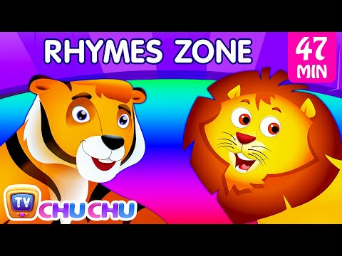 Finger Family Song  The Best Animal Nursery Rhymes Collection for Children  ChuChu TV Rhymes Zone
