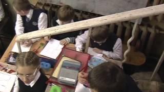 Урок ИЗО в Пушкинской школе