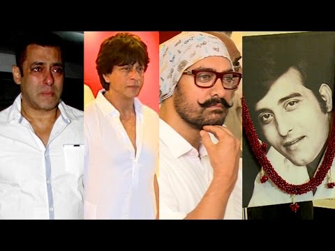 Vinod Khanna's Prayer Meet Full Video | Shah Rukh Khan, Aamir Khan, Amitabh Bachchan and many more