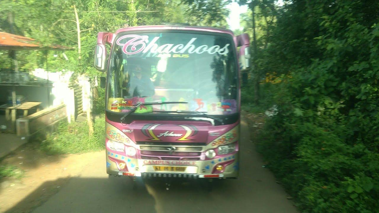 Kerala tourist bus chachoos tours s karinkallathanipalakkad