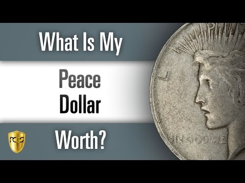 What is my Peace Dollar Worth?