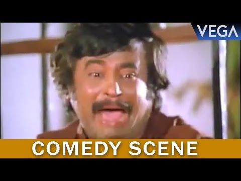 Thambikku Entha Ooru Tamil Movie || Rajinikanth See's The Snake || Comedy Scene