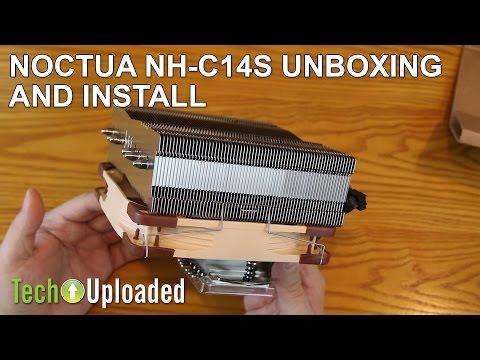 Noctua NH-C14S Unboxing & Install Walkthrough