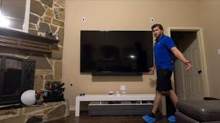"UNBOXING: Samsung 82"" Q60R 4K TV w/ Wall Mounting Installation by Dreamedia in Murphy Texas"