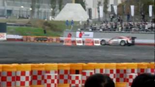 モータースポーツジャパン2011での佐藤琢磨HSVデモラン。 なんと本...