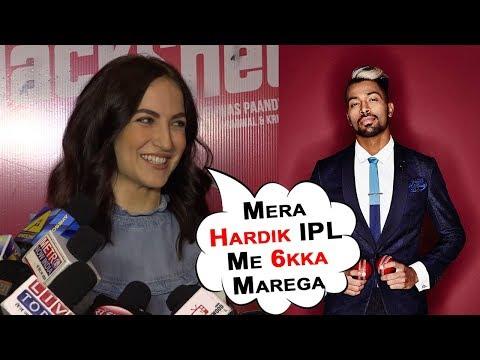 Elli Avram SHOCKING Reaction On Her New Boyfriend Hardik Pandya | Bollywood 2018