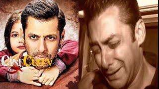 Salman Khan Seen Crying After Watching 'Bajrangi Bhaijaan'