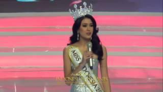 Last Speech Natasha Mannuela Miss Indonesia 2016
