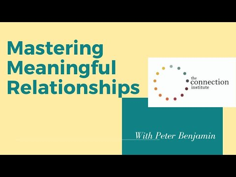 Mastering Meaningful Relationships: Friendship 2.0