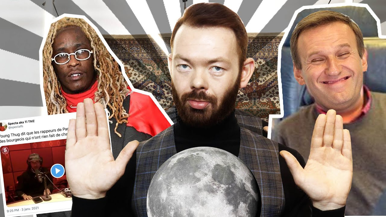 NEWS FRANCE VS RUSSIE - Navalny, Young Thug et la Neige