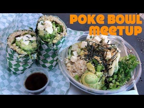 Awesome Vegan Poke Bowls + Sunset Beach Hike