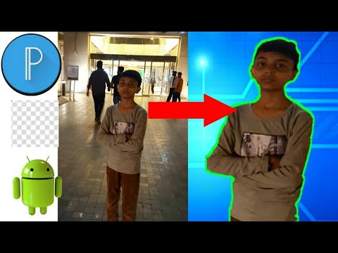 How To Change Photo Background in Android/iPhone 2018 | Technical Pin