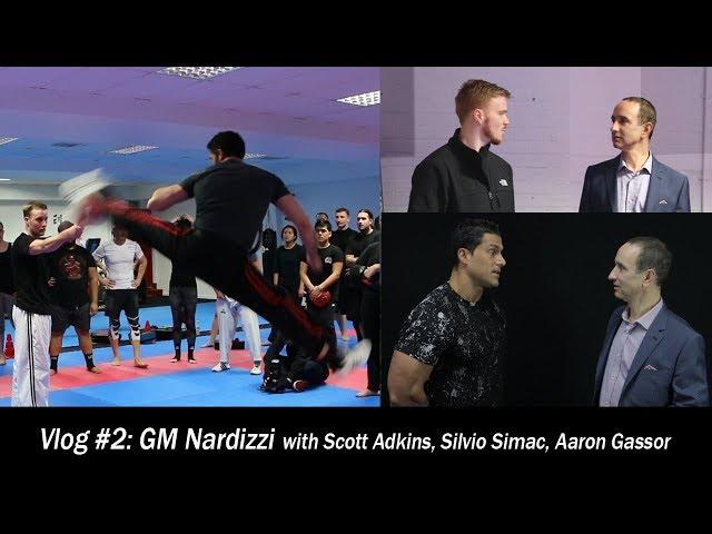 Vlog #2: GM Nardizzi with Scott Adkins, Silvio Simac and Aaron Gassor.
