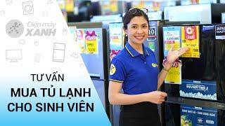 Tư vấn mua tủ lạnh rẻ, gọn, tiết kiệm cho sinh viên • Điện máy XANH