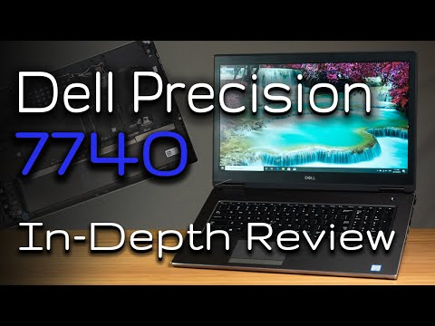 Dell Precision 7740 In-Depth Review with Internals Peak