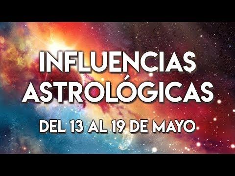 Influencias Astrol�gicas del 13 al 19 de Mayo