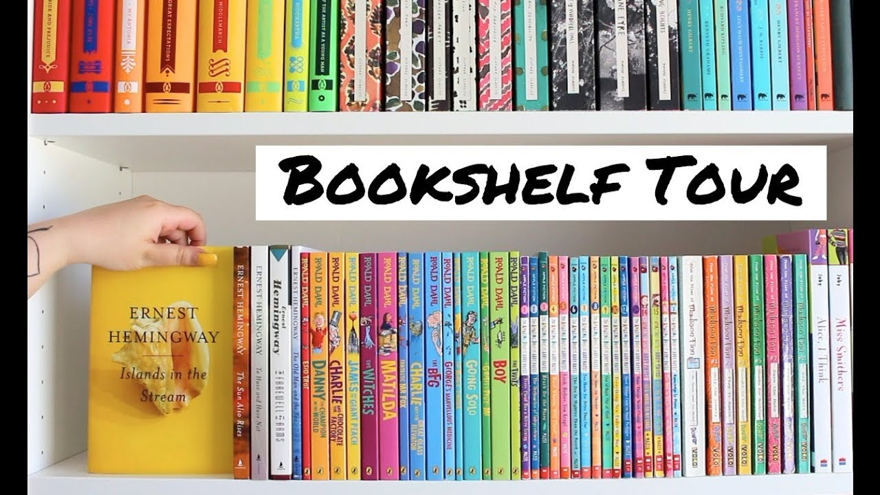 Bookshelf Tour (400+ books!) - LaylaBetweenTheLines - Video