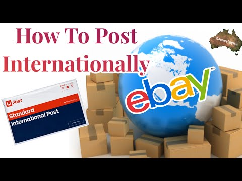 How To Ship Your Ebay Sales Internationally From Ebay Australia Post