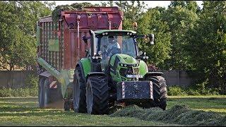 ZBIÓR TRAW 2019 | Usługi Rolnicze GR Piotrowscy | 1 pokos