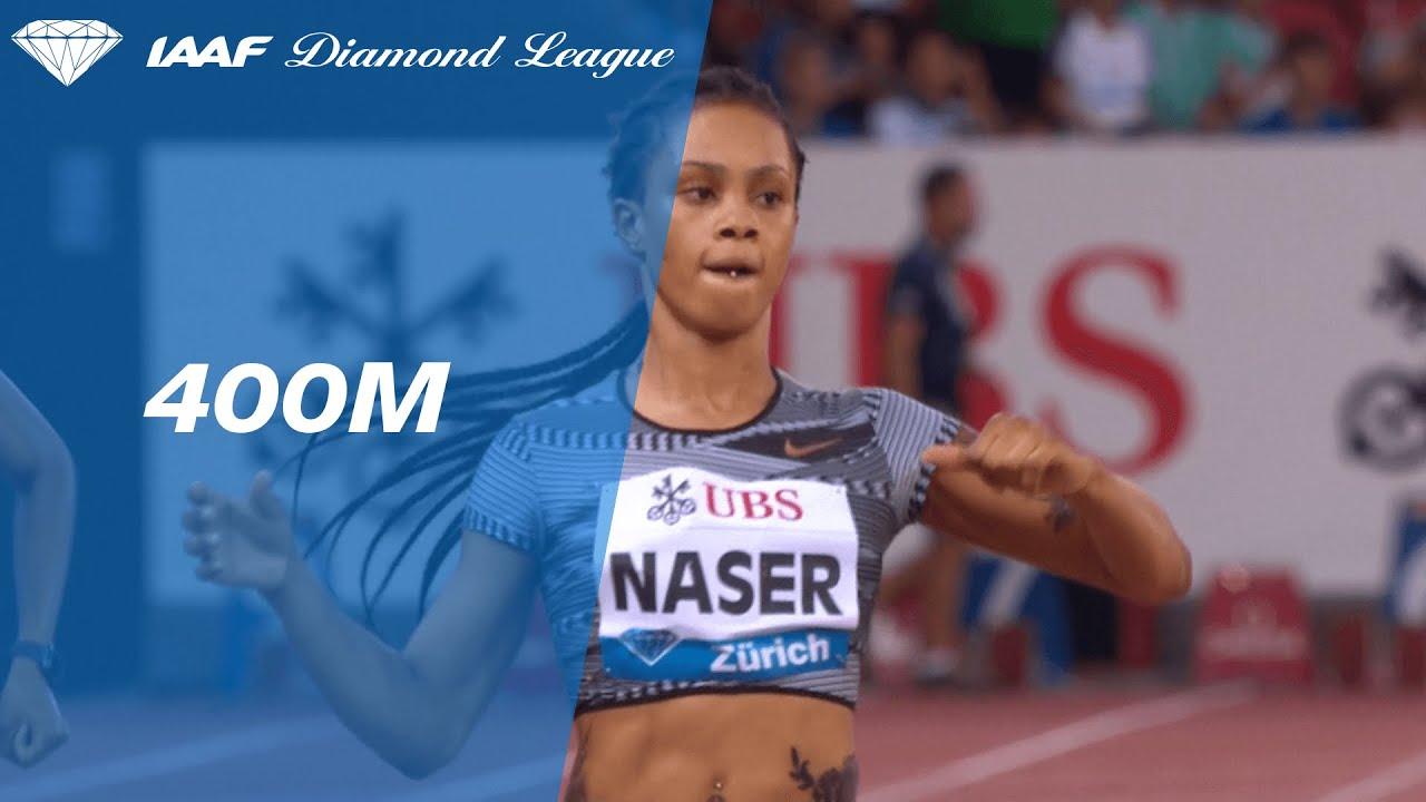 Salwa Eid Naser wins world 400m title with third-fastest
