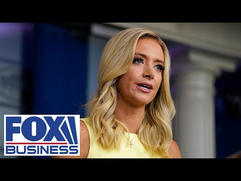 Kayleigh McEnany holds press briefing at White House