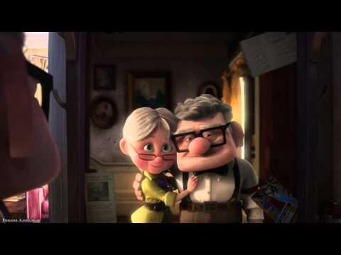 Мультфильм про дедушку с летающим домом