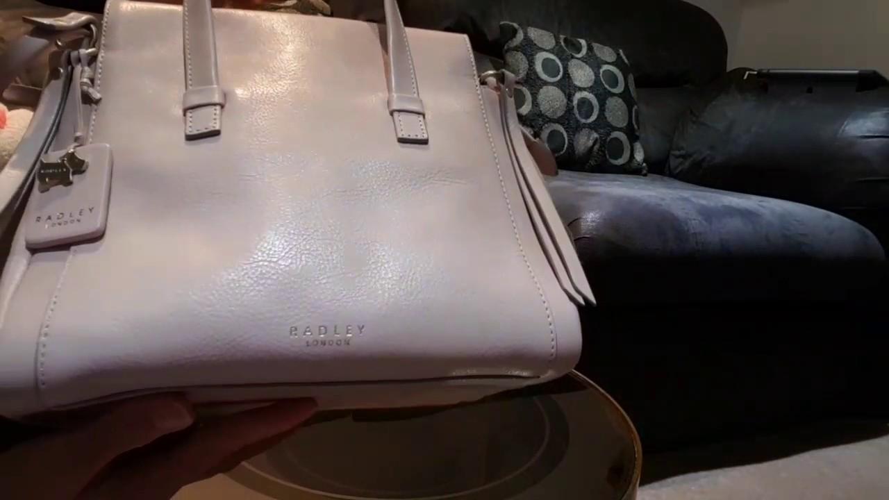 Radley Bedford Square Pink Medium Multiway Bag Review