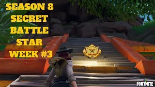 Fortnite - SEASON 8 SEMAINE 3 DISCOVERY CHALLENGE SECRET BATTLE STAR LOCATION IN LOADING SCREEN #3