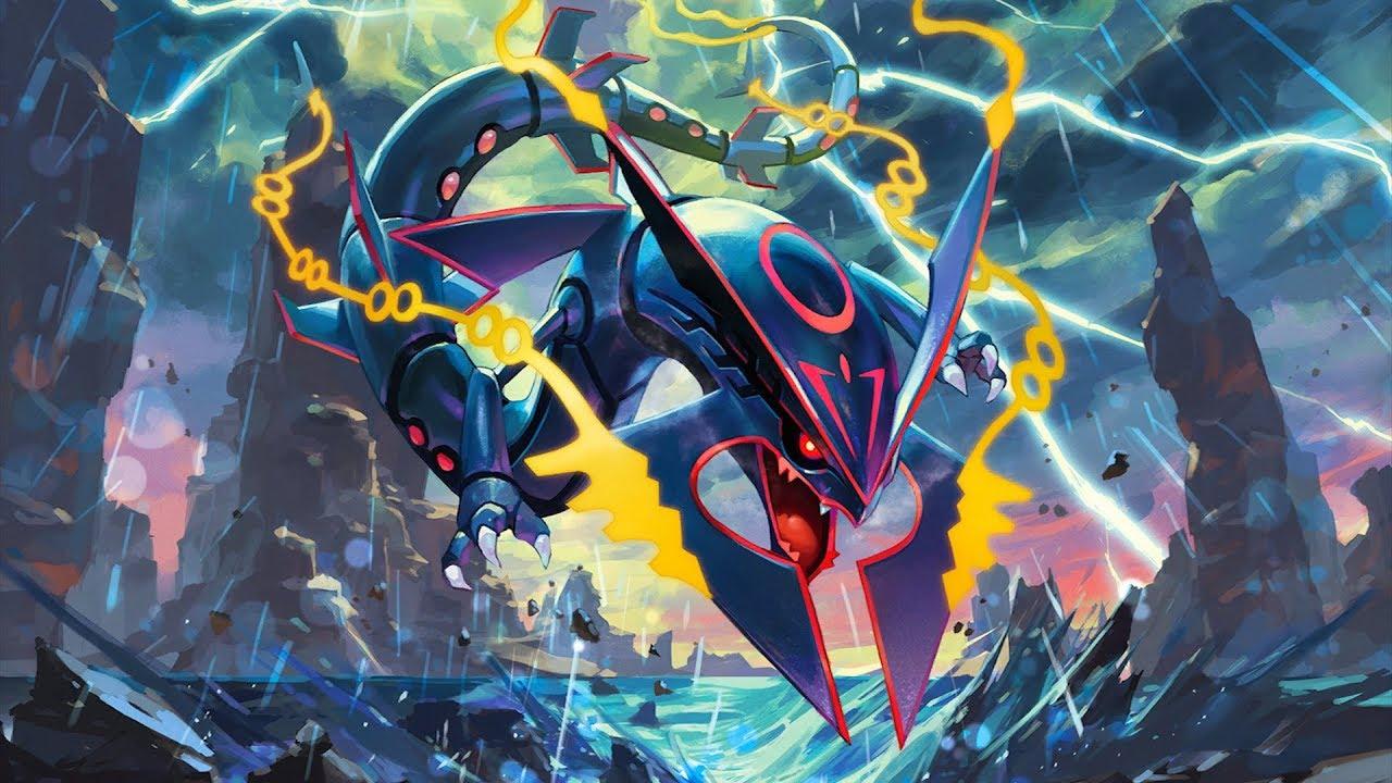 Minecraft pokemon da sorte dark mega rayquaza shiny vs - Pokemon xy mega pokemon ...