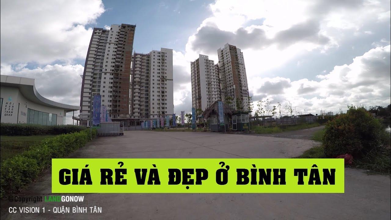 Chung cư Vision 1, Trần Đại Nghĩa, Vòng Xoay An Lạc, Tân Tạo, Quận Bình Tân – Land Go Now ✔