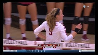 Cover images Stanford v Minnesota, 9/09/2018, Women's Volleyball