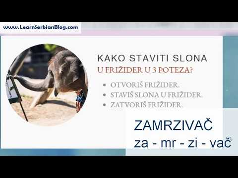 Serbian Language with Vicevi