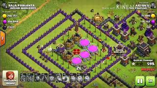 Best troll, pushing, farming base of th9... Copy this into your base...New update